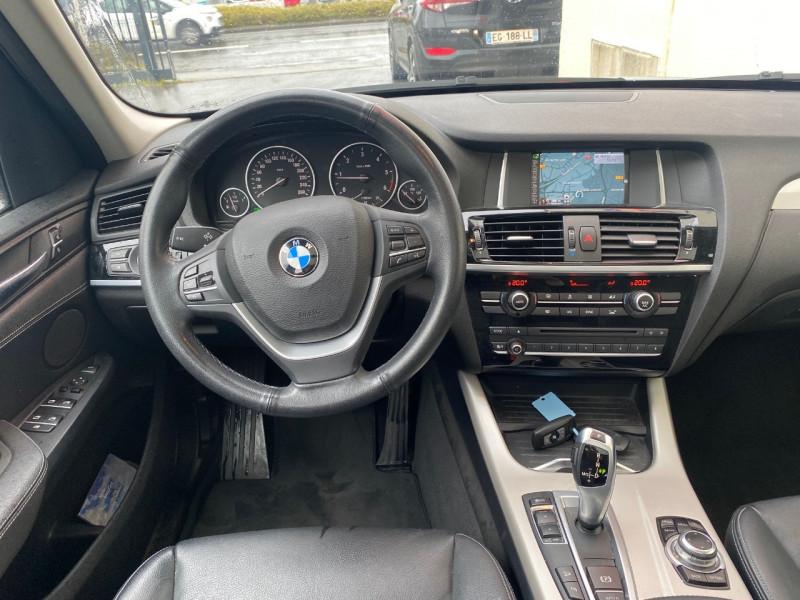 Photo 3 de l'offre de BMW X3 (F25) XDRIVE20DA 190CH LOUNGE PLUS à 22990€ chez Le Fourchêne Automobiles