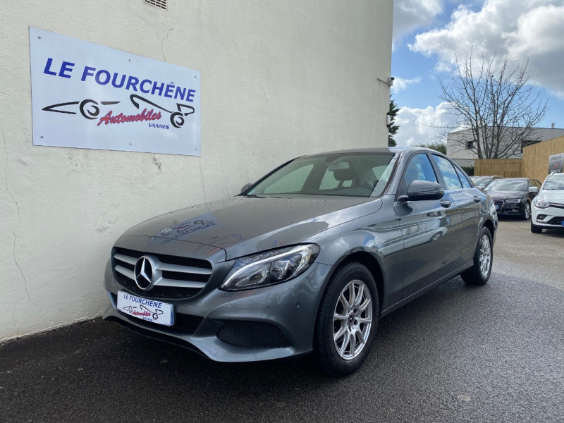 Mercedes-Benz CLASSE C (W205) 180 D BUSINESS Diesel GRIS F Occasion à vendre