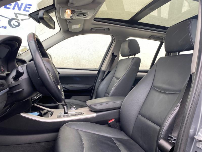 Photo 2 de l'offre de BMW X3 (F25) XDRIVE20DA 190CH LOUNGE PLUS à 22990€ chez Le Fourchêne Automobiles