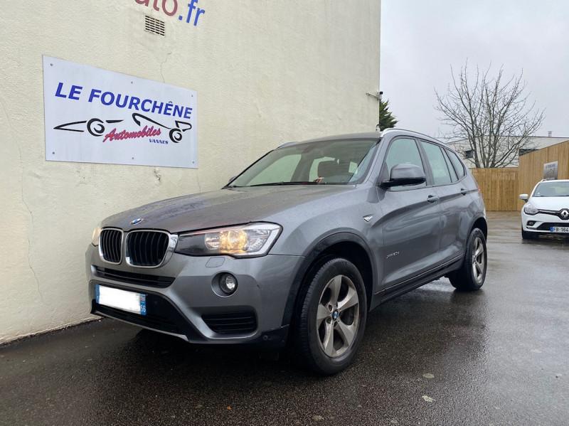 Photo 1 de l'offre de BMW X3 (F25) XDRIVE20DA 190CH LOUNGE PLUS à 22990€ chez Le Fourchêne Automobiles