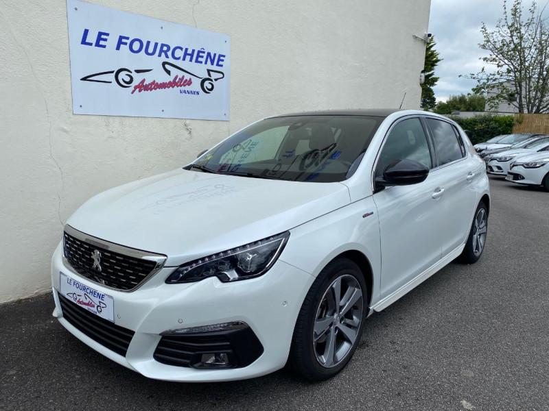 Peugeot 308 1.5 BLUEHDI 130CH S&S GT LINE EAT8 Diesel BLANC Occasion à vendre