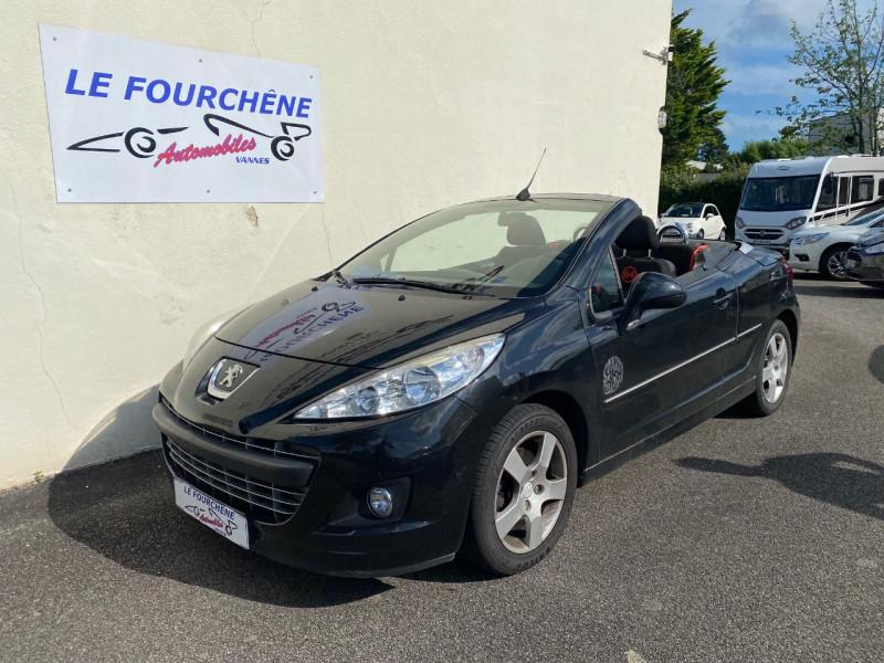 Peugeot 207 CC 1.6 HDI112 FAP SERIE 64 Diesel NOIR Occasion à vendre
