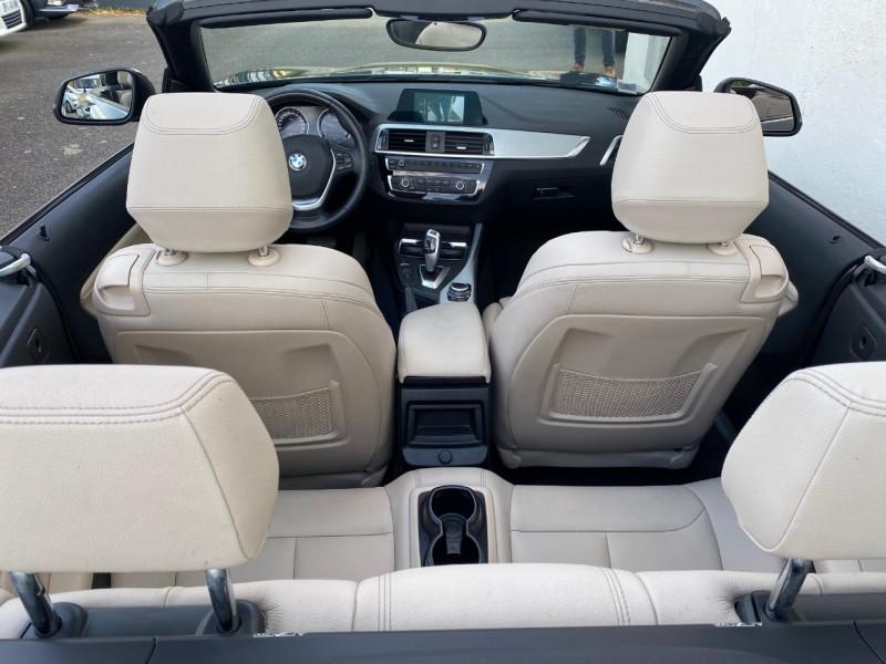 Photo 3 de l'offre de BMW SERIE 2 CABRIOLET (F23) 218DA 150CH SPORT à 28900€ chez Le Fourchêne Automobiles