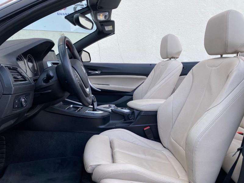 Photo 2 de l'offre de BMW SERIE 2 CABRIOLET (F23) 218DA 150CH SPORT à 28900€ chez Le Fourchêne Automobiles