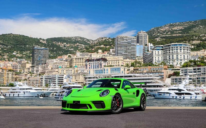 Porsche 911 COUPE (991) 4.0 520CH GT3 RS PDK Essence VERT Occasion à vendre