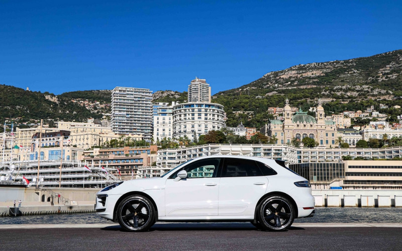 Photo 4 de l'offre de PORSCHE MACAN 2.9 V6 440CH TURBO PDK EURO6D-T EVAP ISC à 108000€ chez Stars Monte Carlo