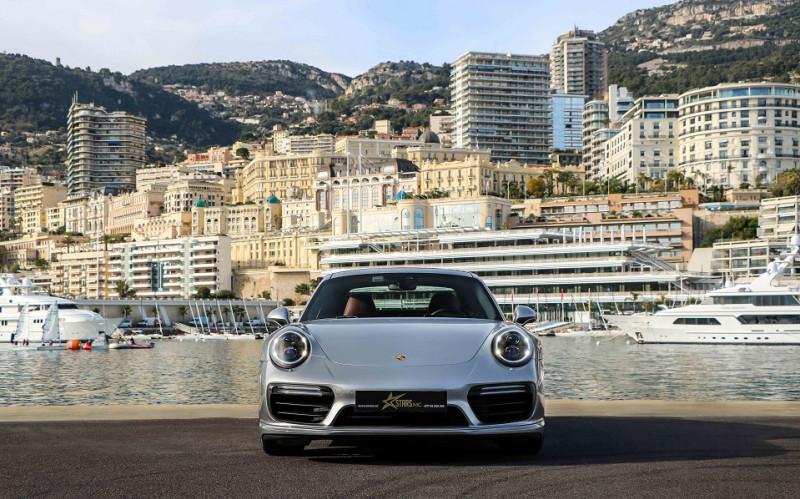 Photo 2 de l'offre de PORSCHE 911 COUPE (991) 3.8 580CH TURBO S PDK à 158991€ chez Stars Monte Carlo