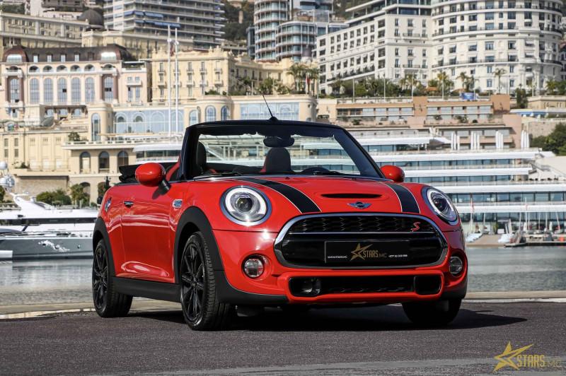 Photo 4 de l'offre de MINI CABRIO COOPER S 192CH RED HOT CHILI BVA à 31900€ chez Stars Monte Carlo