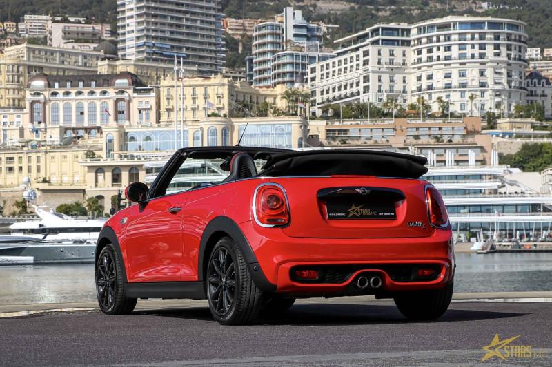 Photo 9 de l'offre de MINI CABRIO COOPER S 192CH RED HOT CHILI BVA à 31900€ chez Stars Monte Carlo