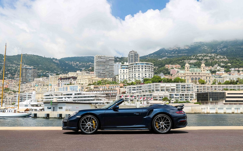 Photo 5 de l'offre de PORSCHE 911 CABRIOLET (991) 3.8 580CH TURBO S PDK à 174991€ chez Stars Monte Carlo