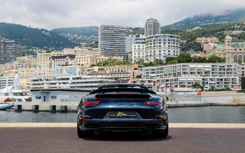 Photo 8 de l'offre de PORSCHE 911 CABRIOLET (991) 3.8 580CH TURBO S PDK à 174991€ chez Stars Monte Carlo