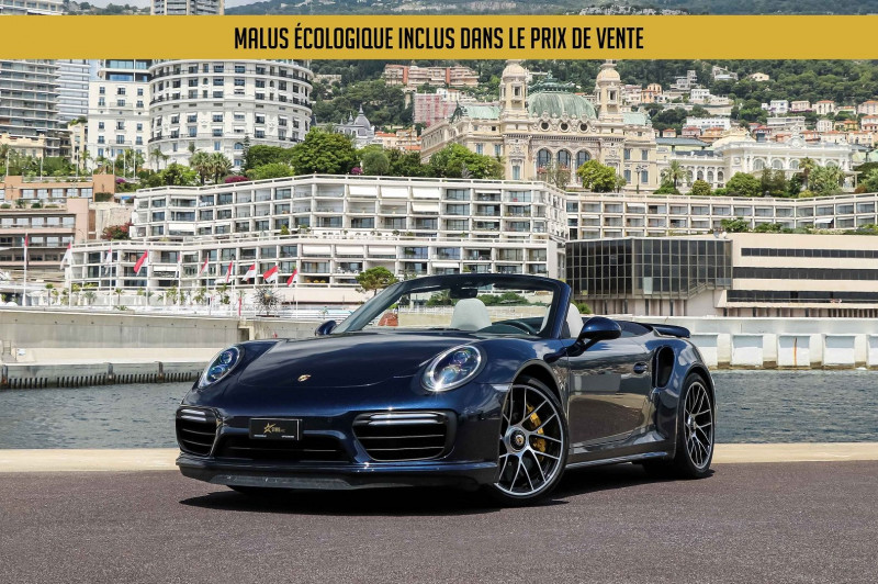 Porsche 911 CABRIOLET (991) 3.8 580CH TURBO S PDK Essence BLEU Occasion à vendre