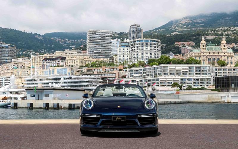 Photo 3 de l'offre de PORSCHE 911 CABRIOLET (991) 3.8 580CH TURBO S PDK à 174991€ chez Stars Monte Carlo