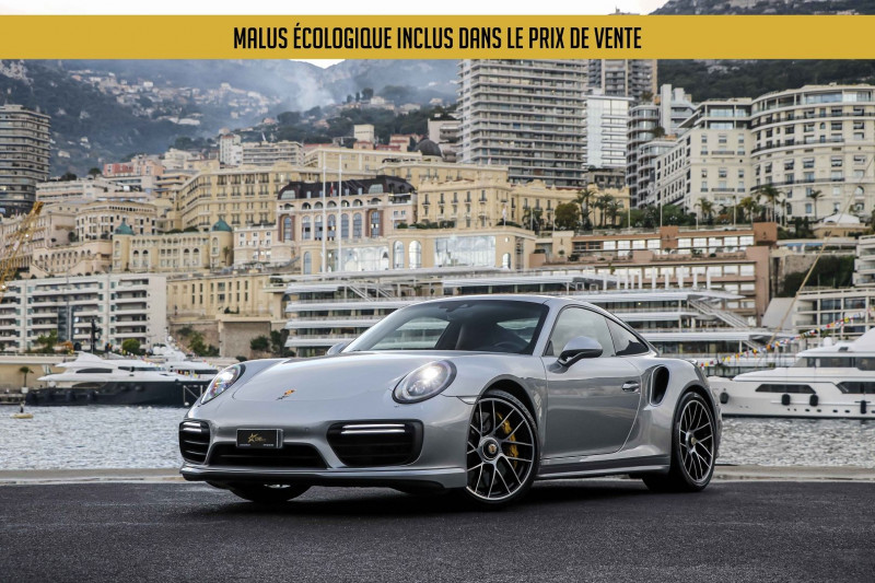 Porsche 911 COUPE (991) 3.8 580CH TURBO S PDK Essence GRIS Occasion à vendre