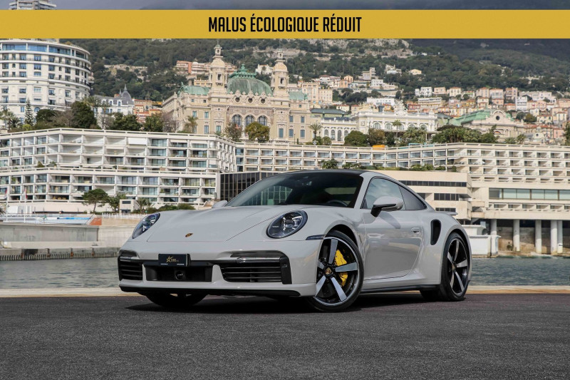 Porsche 911 COUPE (992) 3.8 TURBO S 650 PDK8 Essence GRIS CRAIE Occasion à vendre