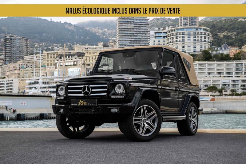 Mercedes-Benz CLASSE G 500 CABRIOLET FINAL EDITION 200 7G-TRONIC + Essence NOIR Occasion à vendre
