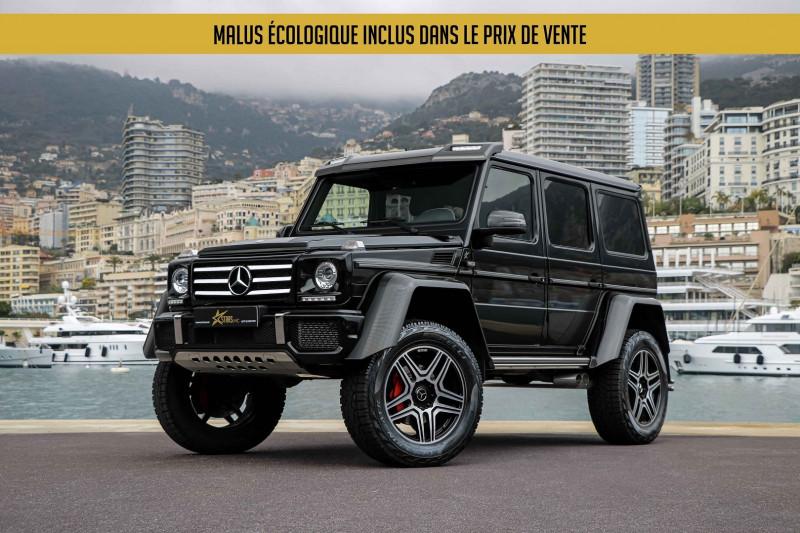 Mercedes-Benz CLASSE G 500 421CH BREAK LONG 7G-TRONIC AU CARRE Essence NOIR Occasion à vendre