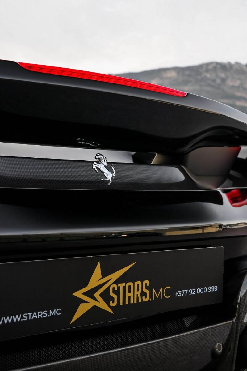Photo 25 de l'offre de FERRARI 488 SPIDER V8 3.9 T 720  PISTA à 570000€ chez Stars Monte Carlo