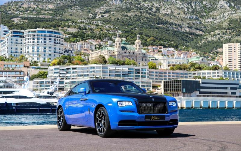 Photo 5 de l'offre de ROLLS-ROYCE WRAITH V12 632CH BLACK BADGE à 260000€ chez Stars Monte Carlo