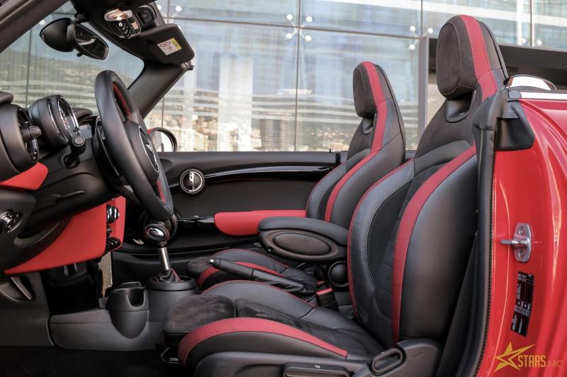 Photo 12 de l'offre de MINI CABRIO COOPER S 192CH RED HOT CHILI BVA à 31900€ chez Stars Monte Carlo