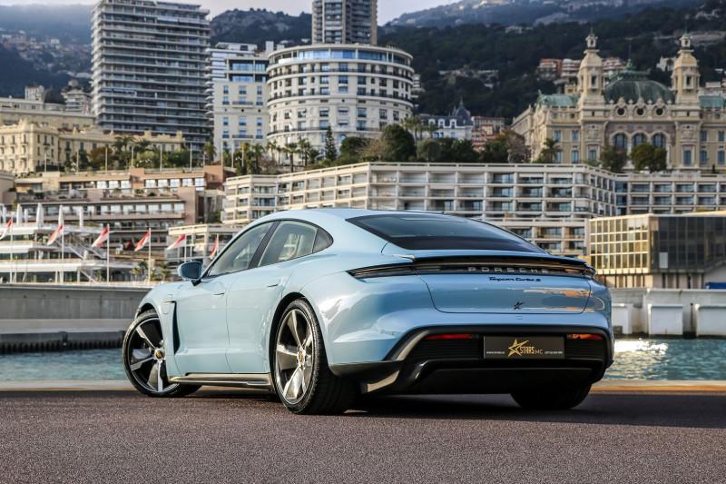 Photo 6 de l'offre de PORSCHE TAYCAN 761CH TURBO S à 175000€ chez Stars Monte Carlo