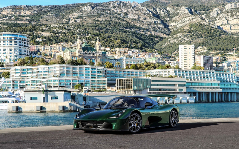 Dallara STRADALE DECAPOTABLE CARBONE APPARENT GLOSSY  400 CLIM Essence VERT CARBONE  Occasion à vendre