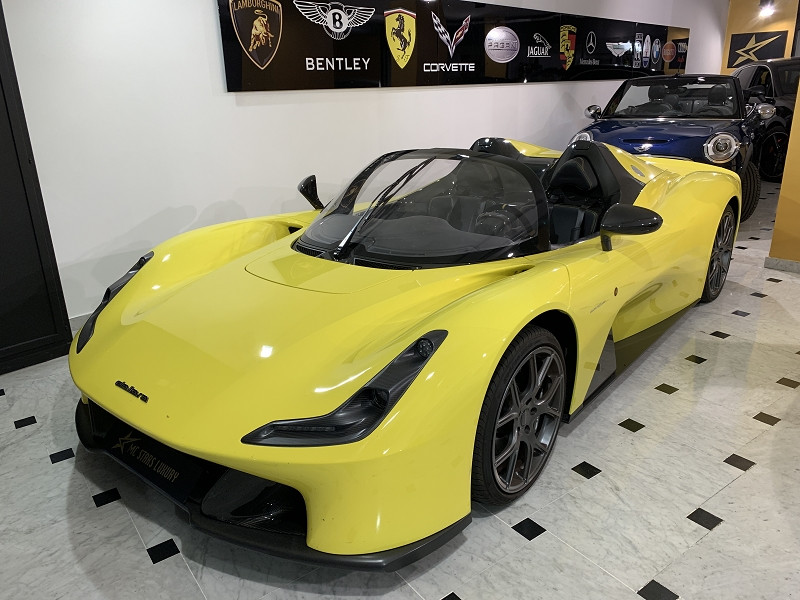 Dallara STRADALE DECAPOTABLE Essence JAUNE Occasion à vendre