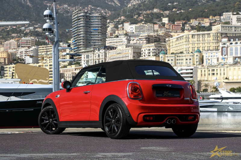 Photo 7 de l'offre de MINI CABRIO COOPER S 192CH RED HOT CHILI BVA à 31900€ chez Stars Monte Carlo