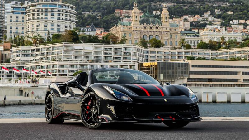 Photo 26 de l'offre de FERRARI 488 SPIDER V8 3.9 T 720  PISTA à 570000€ chez Stars Monte Carlo