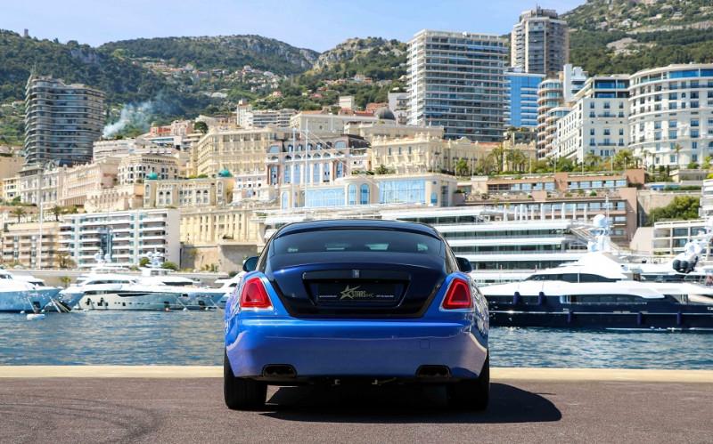 Photo 3 de l'offre de ROLLS-ROYCE WRAITH V12 632CH BLACK BADGE à 260000€ chez Stars Monte Carlo