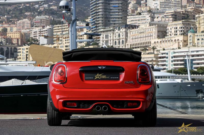 Photo 8 de l'offre de MINI CABRIO COOPER S 192CH RED HOT CHILI BVA à 31900€ chez Stars Monte Carlo