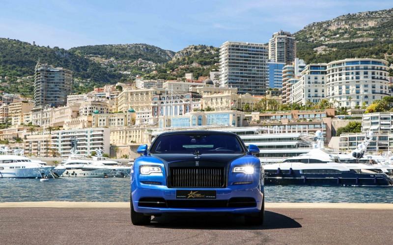 Photo 2 de l'offre de ROLLS-ROYCE WRAITH V12 632CH BLACK BADGE à 260000€ chez Stars Monte Carlo