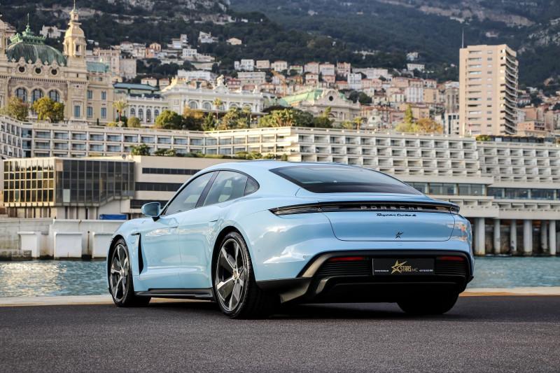 Photo 8 de l'offre de PORSCHE TAYCAN 761CH TURBO S à 175000€ chez Stars Monte Carlo