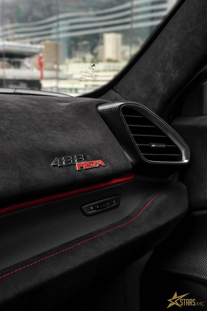 Photo 22 de l'offre de FERRARI 488 GTB V8 3.9 T 720CH PISTA PILOTI à 600000€ chez Stars Monte Carlo