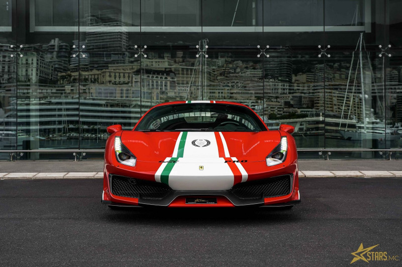 Photo 2 de l'offre de FERRARI 488 GTB V8 3.9 T 720CH PISTA PILOTI à 600000€ chez Stars Monte Carlo