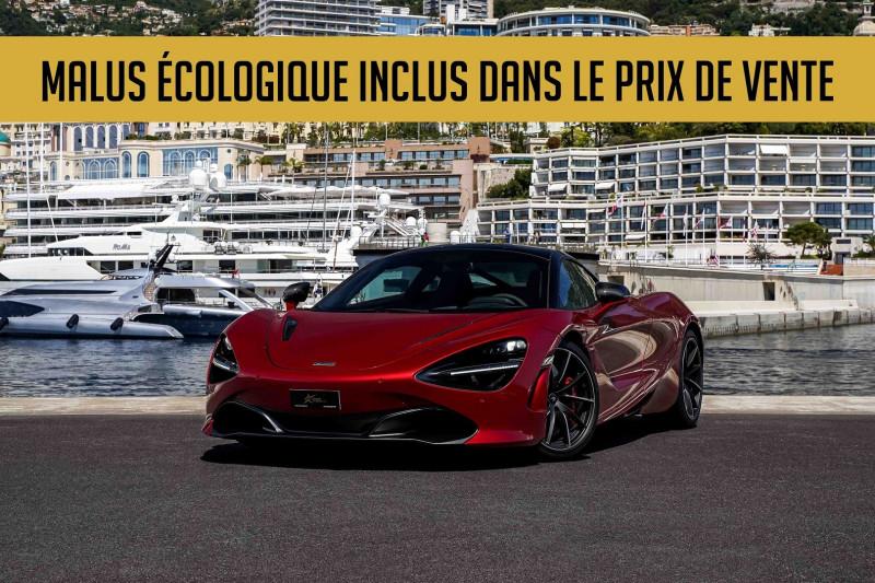 Photo 1 de l'offre de MCLAREN 720S 4.0 V8 BITURBO 720CH PERFORMANCE à 225000€ chez Stars Monte Carlo