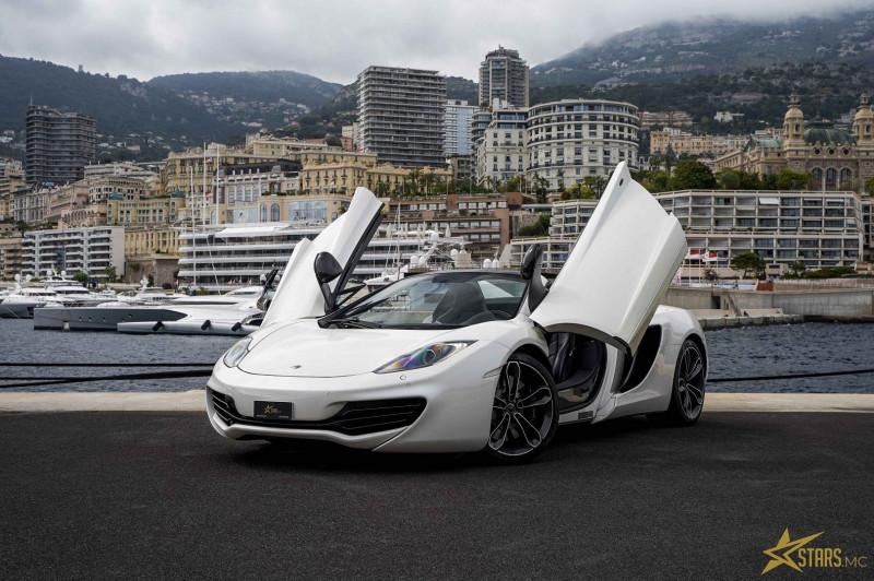 Photo 4 de l'offre de MCLAREN MP4 12C SPIDER 3.8 V8 BITURBO 625CH à 119000€ chez Stars Monte Carlo