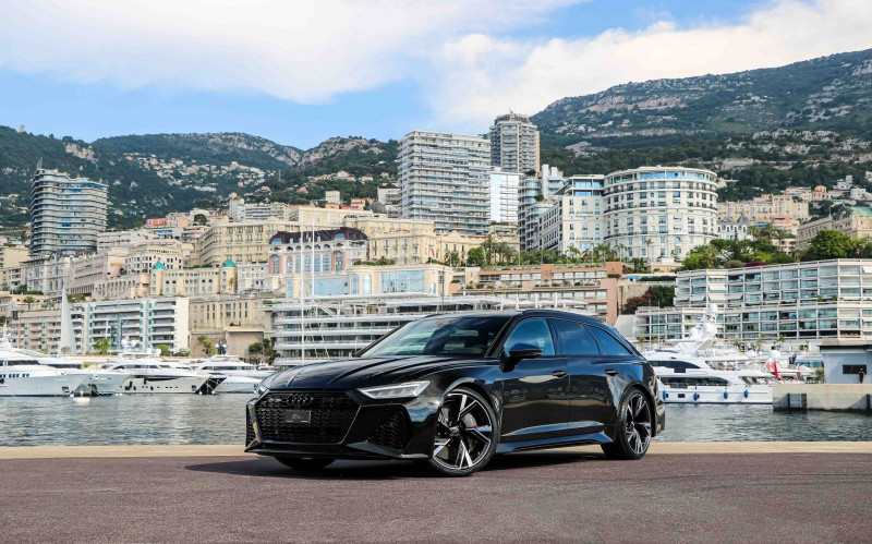 Audi RS6 AVANT 4.0 V8 TFSI 600CH QUATTRO TIPTRONIC Essence NOIR Occasion à vendre