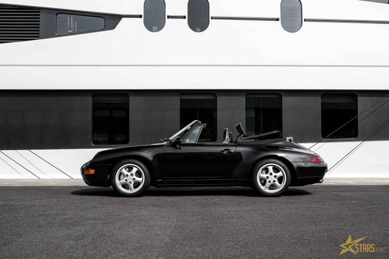 Photo 4 de l'offre de PORSCHE 911 CABRIOLET (993) 272CH CARRERA 4 BV6 à 69993€ chez Stars Monte Carlo
