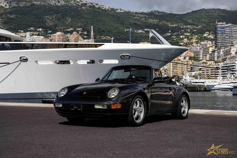 Photo 3 de l'offre de PORSCHE 911 CABRIOLET (993) 272CH CARRERA 4 BV6 à 69993€ chez Stars Monte Carlo