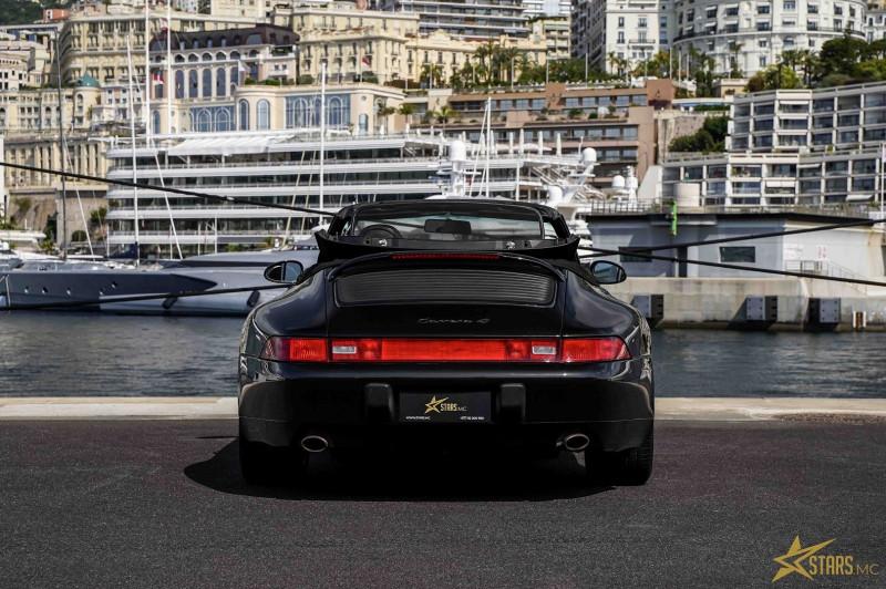Photo 7 de l'offre de PORSCHE 911 CABRIOLET (993) 272CH CARRERA 4 BV6 à 69993€ chez Stars Monte Carlo