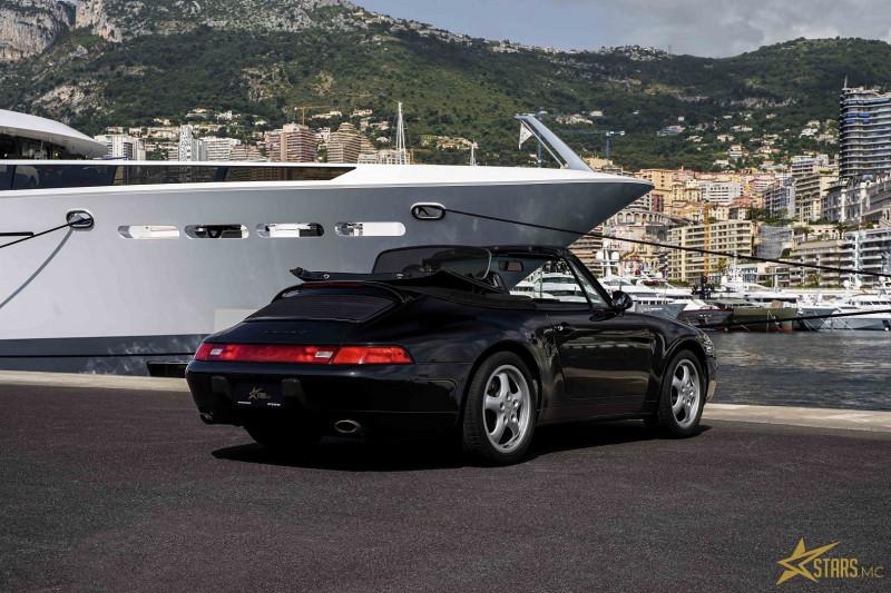 Photo 8 de l'offre de PORSCHE 911 CABRIOLET (993) 272CH CARRERA 4 BV6 à 69993€ chez Stars Monte Carlo