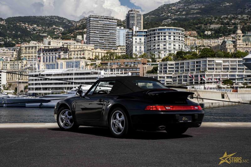 Photo 6 de l'offre de PORSCHE 911 CABRIOLET (993) 272CH CARRERA 4 BV6 à 69993€ chez Stars Monte Carlo