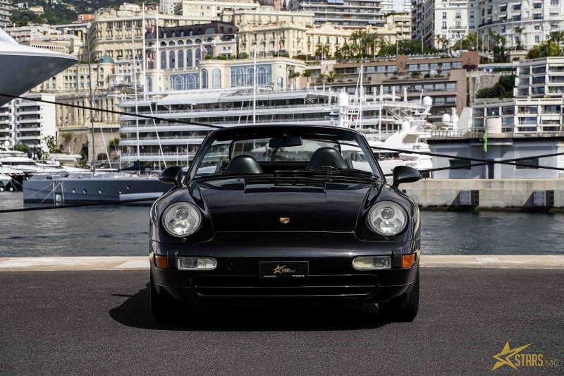 Photo 2 de l'offre de PORSCHE 911 CABRIOLET (993) 272CH CARRERA 4 BV6 à 69993€ chez Stars Monte Carlo