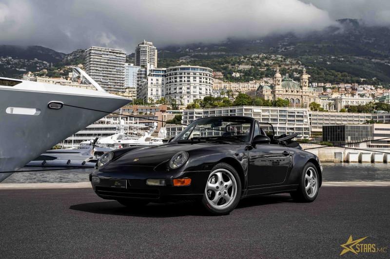 Photo 1 de l'offre de PORSCHE 911 CABRIOLET (993) 272CH CARRERA 4 BV6 à 69993€ chez Stars Monte Carlo