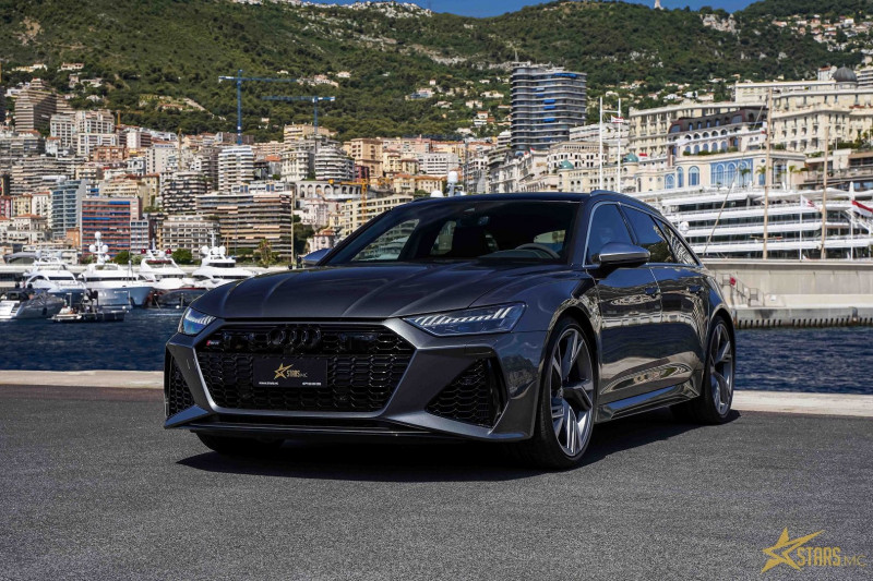 Photo 4 de l'offre de AUDI RS6 AVANT 4.0 V8 TFSI 600CH QUATTRO TIPTRONIC à 142000€ chez Stars Monte Carlo