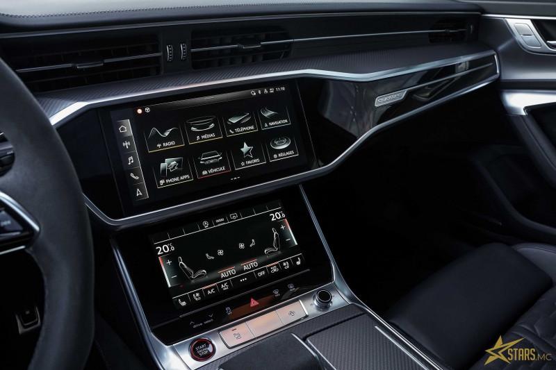 Photo 21 de l'offre de AUDI RS6 AVANT 4.0 V8 TFSI 600CH QUATTRO TIPTRONIC à 142000€ chez Stars Monte Carlo