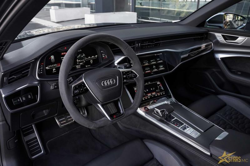 Photo 10 de l'offre de AUDI RS6 AVANT 4.0 V8 TFSI 600CH QUATTRO TIPTRONIC à 142000€ chez Stars Monte Carlo
