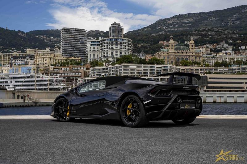 Photo 8 de l'offre de LAMBORGHINI HURACAN SPYDER LP 640-4 PERFORMANTE à 295640€ chez Stars Monte Carlo
