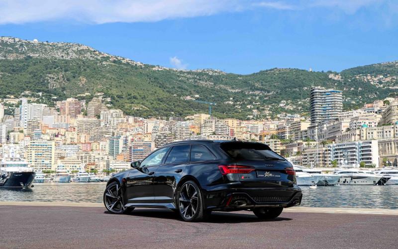 Photo 6 de l'offre de AUDI RS6 AVANT 4.0 V8 TFSI 600CH QUATTRO TIPTRONIC à 139000€ chez Stars Monte Carlo